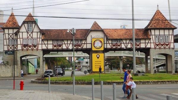 Chegada ao Parque Vila Germânica. Imagem: Lorena Grisi