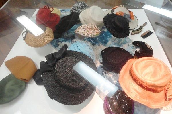 Coleção de chapéus de Dona Ellen Vollmer. Imagem: Lorena Grisi