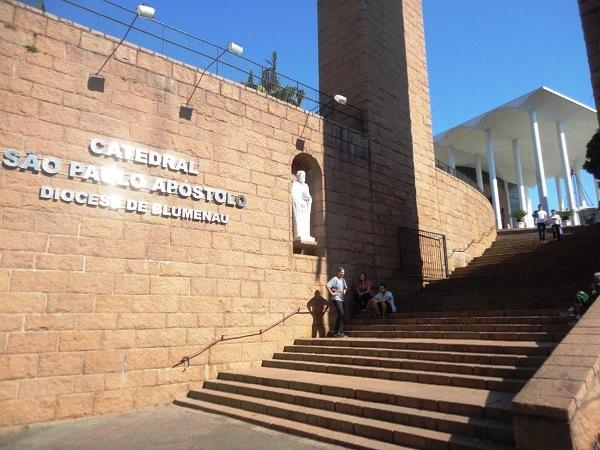 Catedral de São Paulo Apóstolo. Blumenau (SC). Imagem: Lorena Grisi