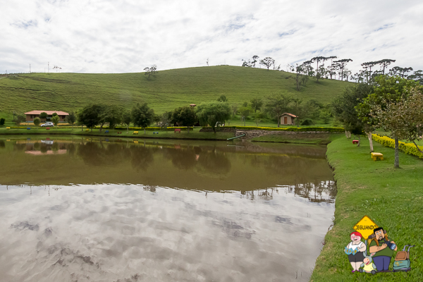 Tocas do Lago Bed & Breakfast. São Bento do Sapucaí. Imagem: Erik Araújo