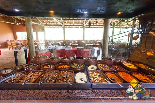 Comida mineira. Restaurante Pedra do Baú. São Bento do Sapucaí, São Paulo. Imagem: Erik Araújo