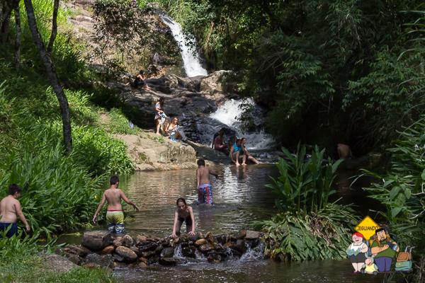Cachoeira dos Amores. São Bento do Sapucaí. Imagem: Erik Araújo