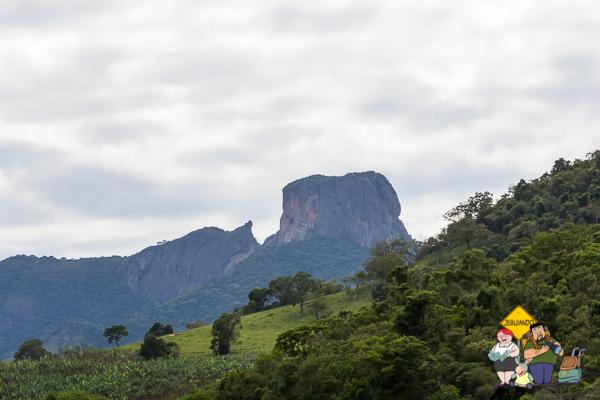 Vista para a Pedra do Baú. Imagem: Erik Araújo