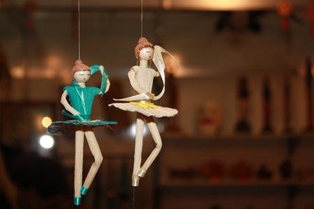 Bailarinas. Imagem: Erik Pzado.