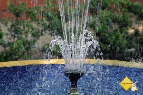Fonte. Santa Clara Eco Resort, Dourado, SP. Imagem: Erik Pzado.