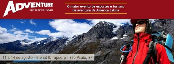 Adventure Sports Fair acontece entre os dias 11 e 14 de agosto em São Paulo