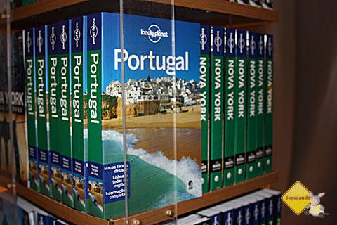 Foram lançados os primeiros oito guias Lonely Planet em língua portuguesa. Imagem: Janaína Calaça