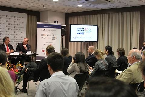 Lançamento da WTM-Latin America: evento será anual e terá três dias de duração. Imagem: Janaína Calaça