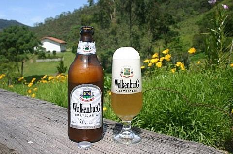 Cerveja Wolkenburg Weiss. Imagem: Cervejaria Wolkenburg