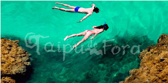 Península de Maraú, no sul da Bahia. Imagem: http://taipudefora.com.br/fotos.htm