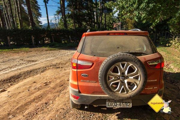 O Jeguiando viajou para Monte Verde com a nova Eco Sport Titanium. Imagem: Janaína Calaça