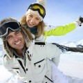 Casal de esquiadores. Imagem: Premium Assistance